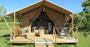 glamping-tente
